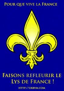 Avril 2013 Faisons refleurir le Lys de France