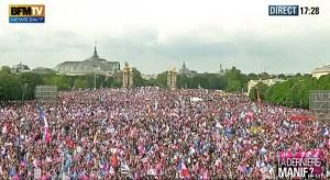 Manif pour Tous du 26 Mai 2013