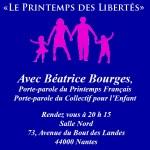 Réunion Publique du 15 Novembre 2013 avec Béatrice Bourges