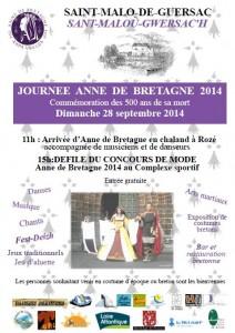 Journée Anne de Bretagne